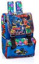 Batman Rugzak Kinderen Blauw Rood