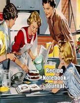 Recipe Notebook Journal