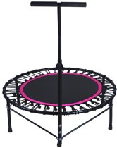 Mini Fitness Workout Trampoline - Jump Up Sport Jumping Bounce Cardio Trampoline Opvouwbaar - Zwart