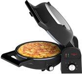 Princess 118000 Tortilla Chef – Voor Spaanse Tortilla's, pizza en tafelgrill – Zwart
