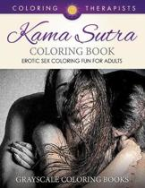 Karma Sutra Coloring Book (Erotic Sex Coloring Fun for Adults) Grayscale Coloring Books