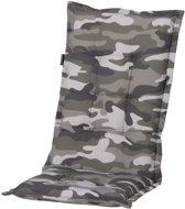 Madison tuinkussen hoog camouflage 123x50 cm
