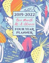 2019-2022 Four Year Planner One Month At-A-Glance