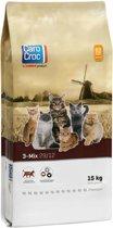 Carocroc Kat 3-Mix - Kattenvoer - 15 kg