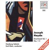 Haydn: Divertimenti, Nos. 1-3