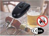 Alcoholtester - Alcohol tester - Sleutelhanger met Zaklampje