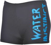 B Slogan Jr Short black-turquoise 140