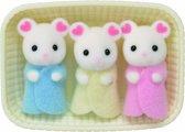 Sylvanian Families 5337 Drieling Marshmellow Muis  - Speelfigurenset