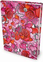 Love - Rekbare Boekenkaften - A4 - 6 stuks