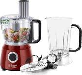 Russell Hobbs 24730-56 Desire Food Processor - Rood