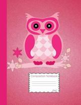 Owl Composition Notebook