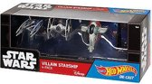 Hot Wheels Star Wars Die Cast - Hero Starship 4-pack