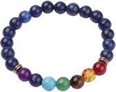 Edelstenen armband Lapis Lazuli Mix Color Stone