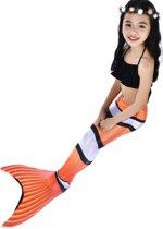 Zeemeerminstaart met bikini Nemo maat 150   Zonder Monovin    Besteld vóór 15u? Woon je in Nederland? Dan levering volgende werkdag!