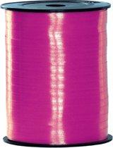 Fuchsia roze cadeau lint 500 meter