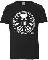 Logoshirt T-Shirt S.H.I.E.L.D. - Logo - Marvel Comics