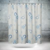 Roomture - douchegordijn - Blue Elements- 180 x 200