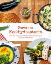 Boek cover Gewoon koolhydraatarm van Anna-Karina van Denderen (Hardcover)