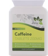 Caffeïne 60 Tablets 200mg