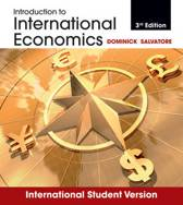 Introduction to International Economics 3E International Student Version