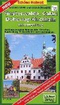 Radwander- und Wanderkarte Finsterwalde, Calau, Doberlug-Kirchhain und Umgebung 1:50 000