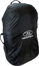 Highlander Combohoes - 50 tot 70 liter - flightbag en regenhoes - Zwart