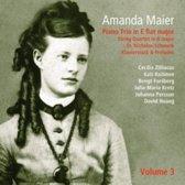 Amanda Maier: Piano Trio in E flat major; String Quartet in A major; Etc.