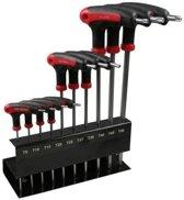 Torx schroevendraaiers set / schroevendraaierset in wandhouder - 10-delig