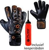 Elite - Combat - Keepershandschoenen - inclusief Keepersbidon - maat 6 - voetbal keepershandschoenen - keepershandschoen - Goalkeeper handschoen