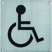 Intersteel - Pictogram toilet mindervalide