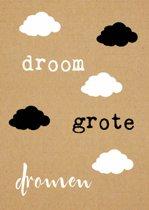 Ansichtkaarten Droom grote dromen - 15x10.5 - Papier (10 stuks)