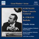 Arrau: Schumann/Strauss