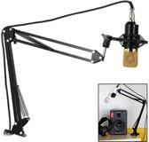Microfoon Standaard flexible - broadcast-microfoonarm - flexibele tafel microfoonstandaard