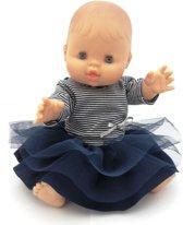 Paola Reina bretons poppenkleding Kledingset voor Gordi babypop