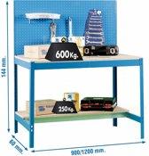 George Tools Werkbank met Gereedschapswand 1200