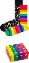 Happy Socks Pride edition Giftbox - Maat 36-40