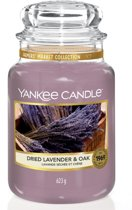 Yankee Candle Large Jar Dried Lavender & Oak