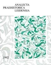 Analecta Praehistorica Leidensia 25 - The end of our third decade 1