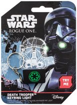 Star Wars Rogue One Death Trooper Keyring with Light Green