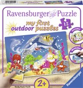 Ravensburger Avontuur onder water plastic puzzle - 12 stukjes - kinderpuzzel