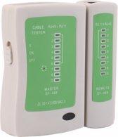 Kabel tester RJ45 RJ11 RJ12 CAT5 UTP / Master en Remote / Netwerk Network cable tester