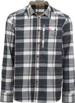 Fjallraven Fjallglim Shirt - heren - blouse lange mouwen - S-  blauw