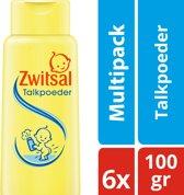 Zwitsal Talkpoeder - 6 x 100 gr