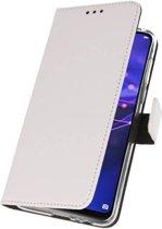 Huawei Mate 20 Wit | Wallet Case Hoesje  | WN™