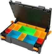 Systainer Ironside zwart 72x377x277mm incl inzetbakjes