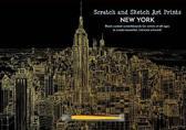 New York Scratch & Sketch Art Print