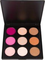 Coastal Scents Sleek Silhouette Palette - Highlight, Contour & Blush - 9 shades