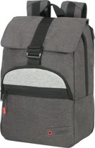 American Tourister Laptoprugzak - City Aim Laptop Backpack 14.1 inch Anthracite Grey