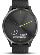 Garmin Vivomove HR - Hybride Smartwatch - Zwart - Large
