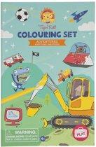 Tiger Tribe 6-0207 Kleurboek/-album kleurplaat en kleurboek
